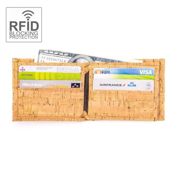 Portofel barbatesc RFID