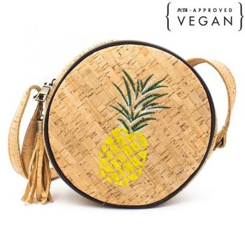 Geanta crossbody rotunda Ananas