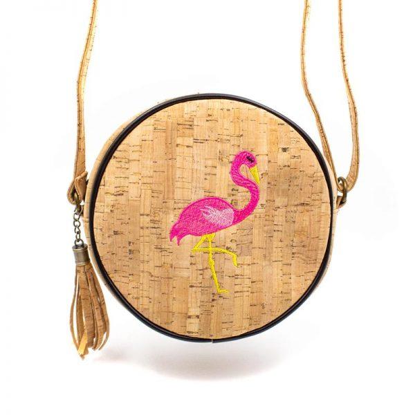 Geanta rotunda Flamingo