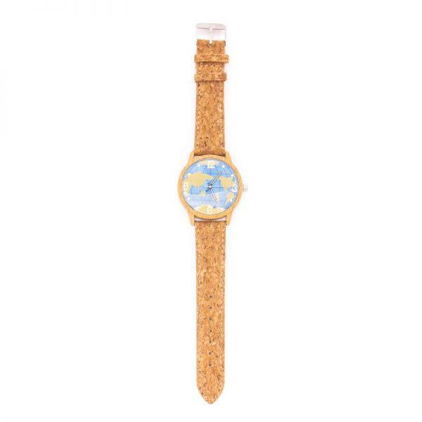 Ceas din pluta Harta lumii1