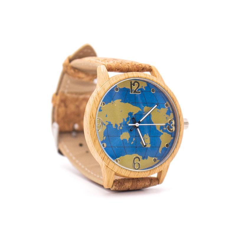 Ceas din pluta Harta lumii