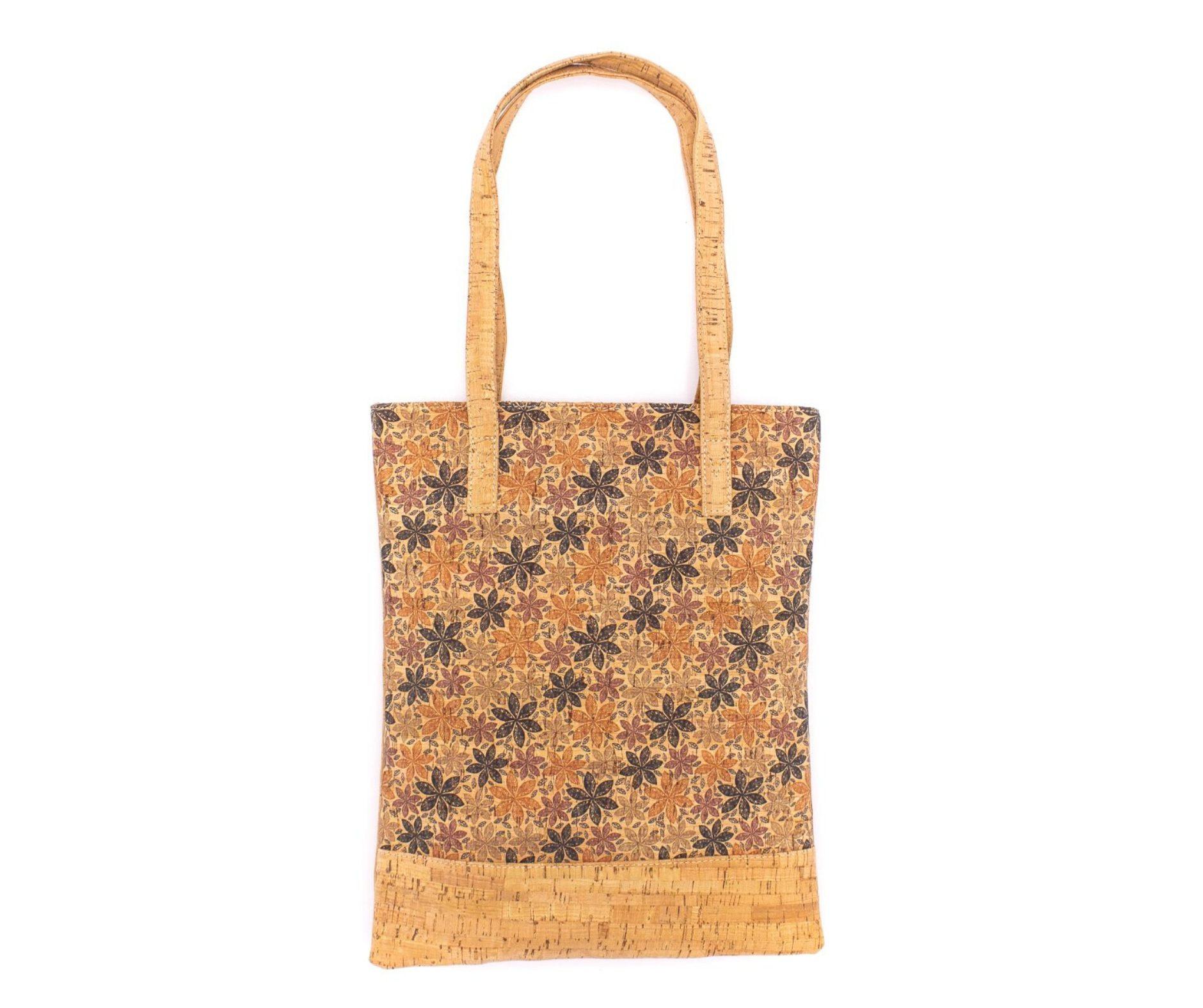 Geanta-shopper cu imprimeu floral