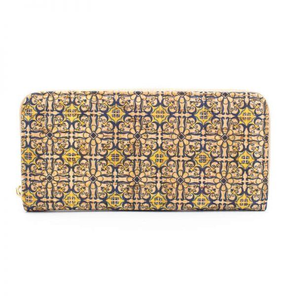 Portofel de dama cu fermoar - azulejos