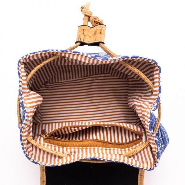 Rucsac din pluta cu material textil2