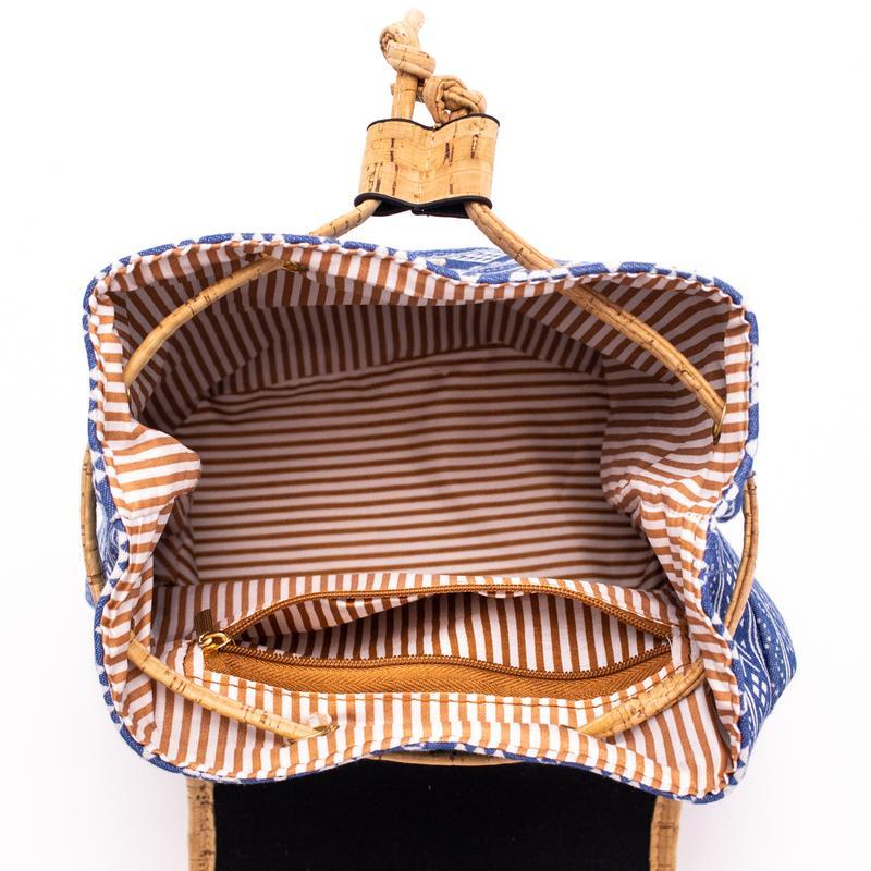 Rucsac din pluta cu material textil