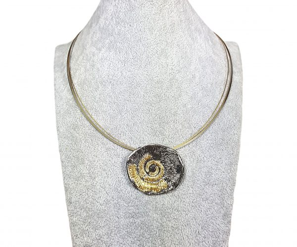 Colier Spiral Shell 2