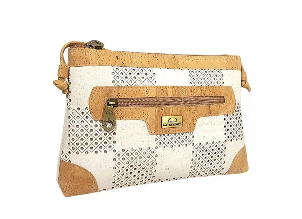 Geanta crossbody alb-natural-laser