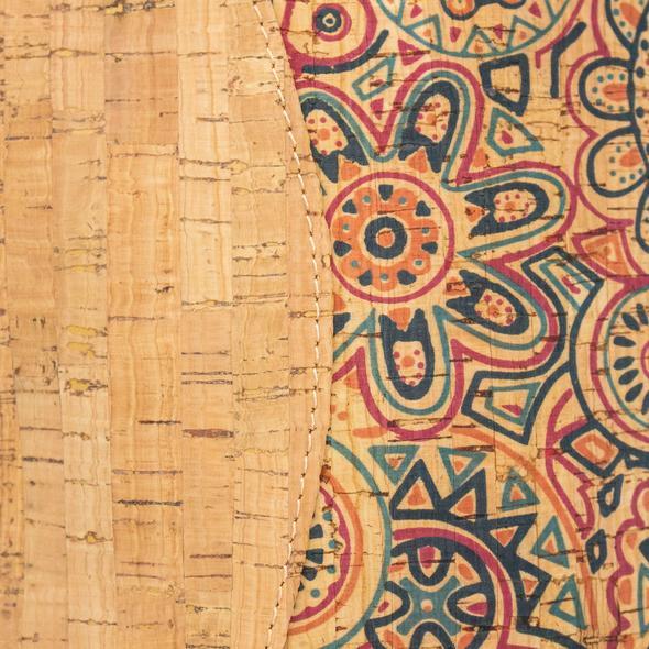 Geanta crossbody cu imprimeu geometric
