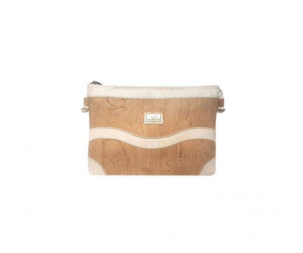 Geanta crossbody natural-alb