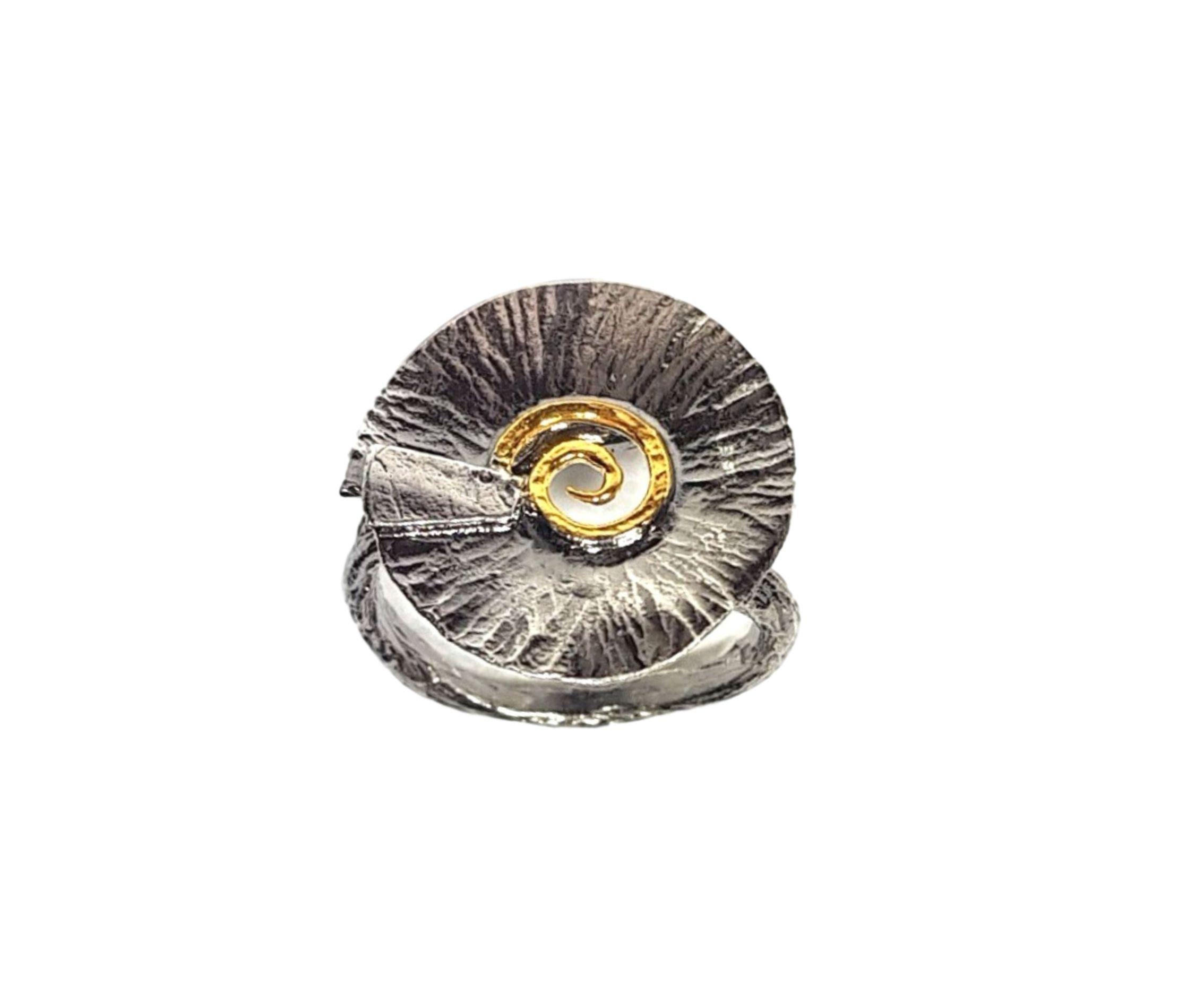 Inel reglabil Spiral Shell