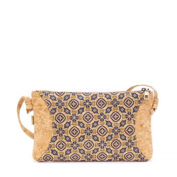 Geanta crossbody cu model traditional portughez