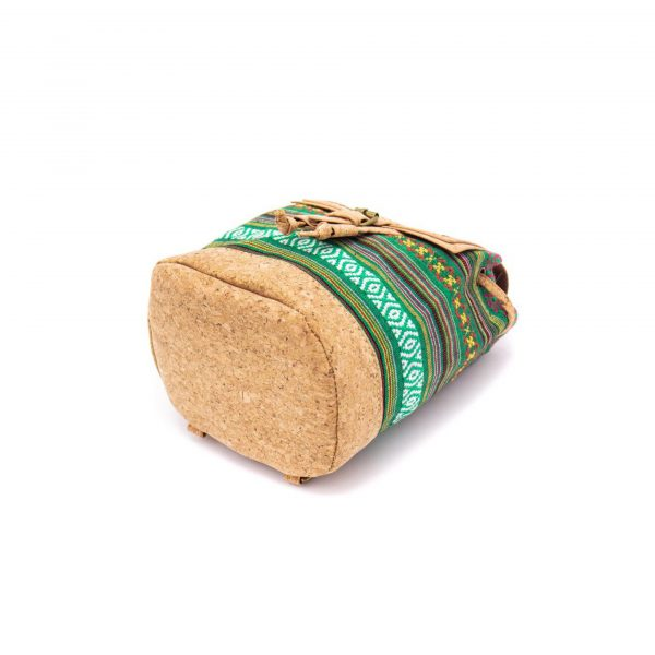 Rucsacel din pluta si material textil – verde3