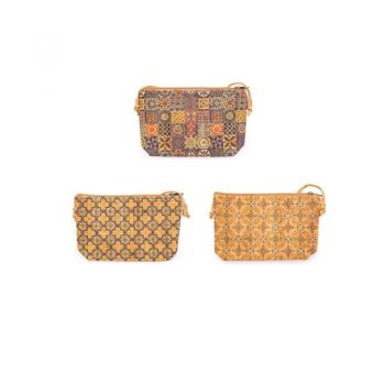 Geanta crossbody Azulejos multicolor