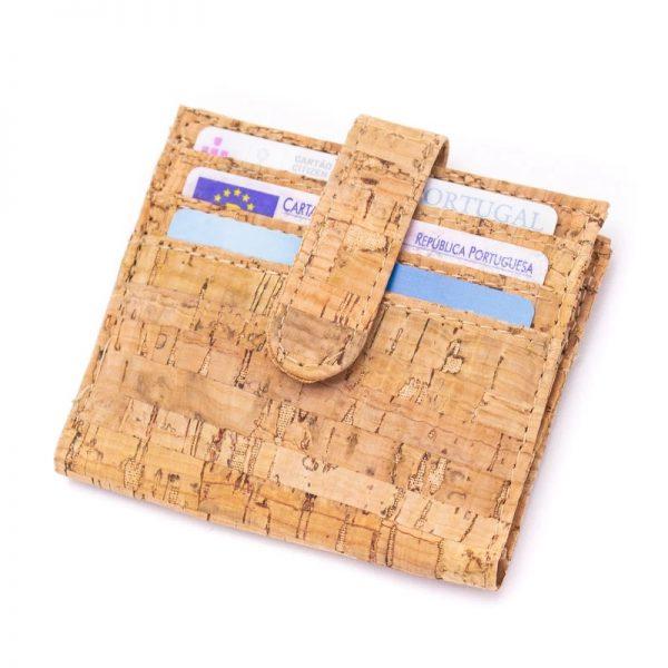 Portofel mic de carduri cu imprimeu