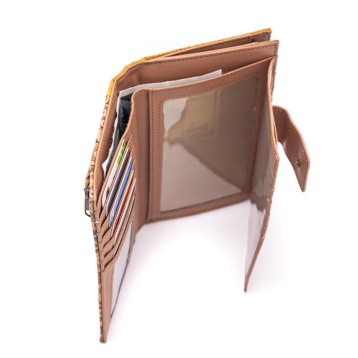 Portofel RFID cu fermoar – geometric