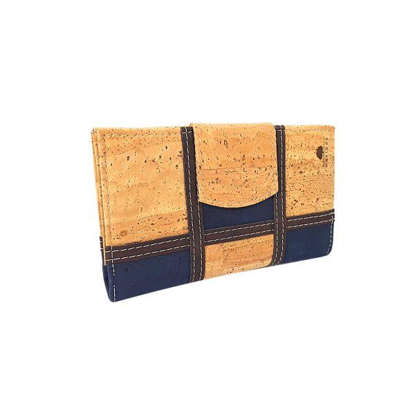 Portofel dublu mare squares bleumarin1