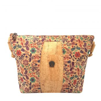 Geanta crossbody natural - botanic
