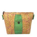 Geanta crossbody verde menta - multicolor