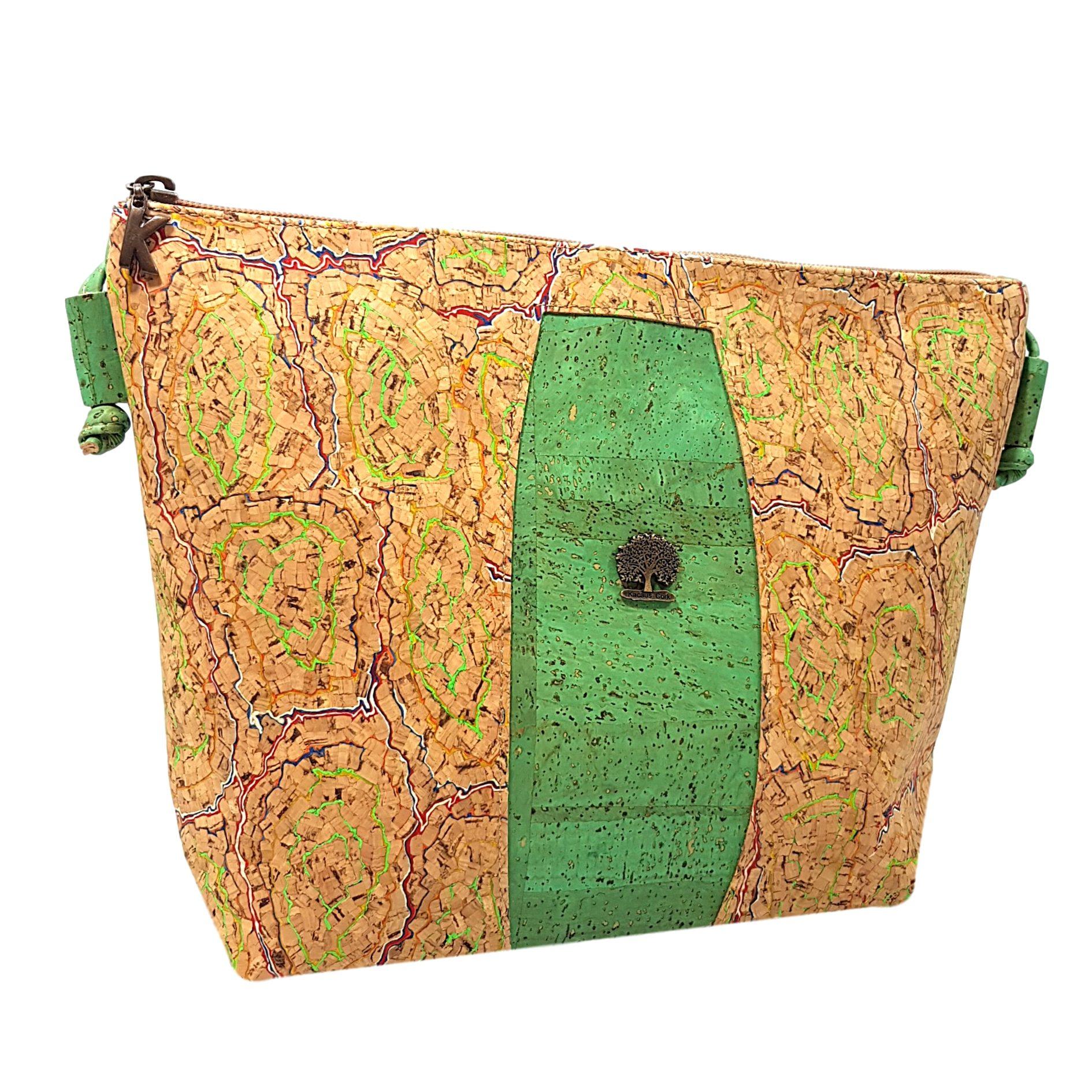 Geanta crossbody verde menta – multicolor