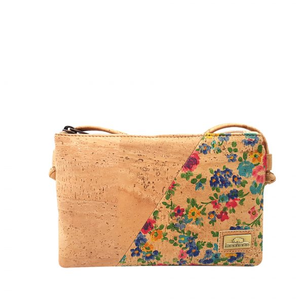 Genta crossbody Flores duo