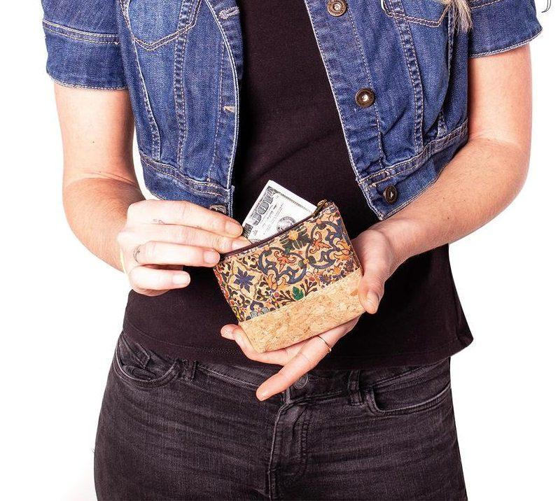 Portmoneu pentru monede si carduri