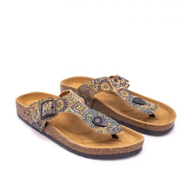 Sandale flip-flop Azulejos