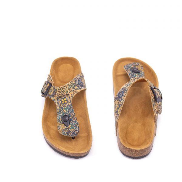 Sandale flip-flop Azulejos3