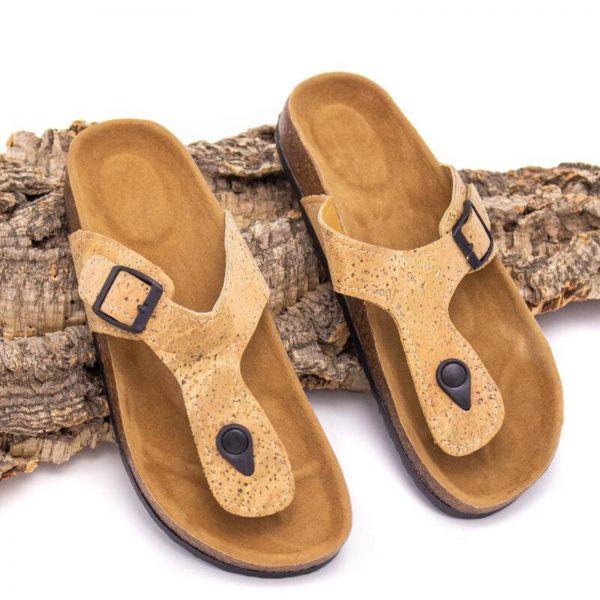Sandale flip-flop Natural3