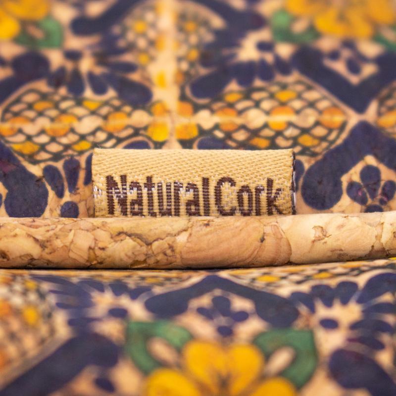 Rucsac Azulejo cu fermoar – galben