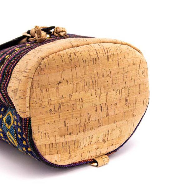 Rucsacel din material textil si capac de pluta3