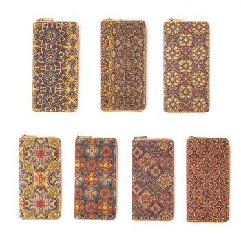 Portofel cu fermoar Mozaic
