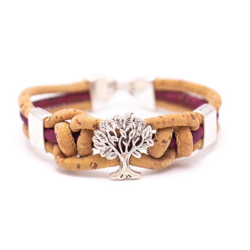 Bratara colorata cu noduri Copacul vietii