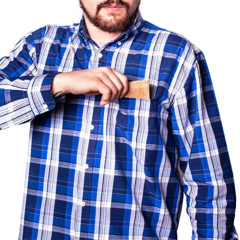 Portofel barbatesc de carduri cu RFID