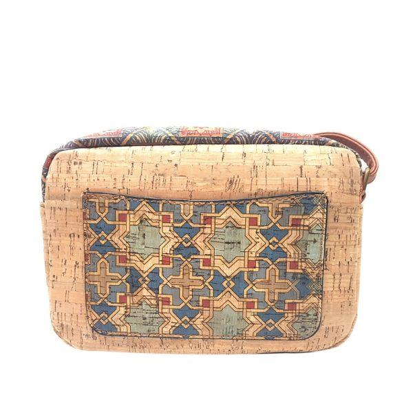 Geanta crossbody cu buzunare natural-azulejos1