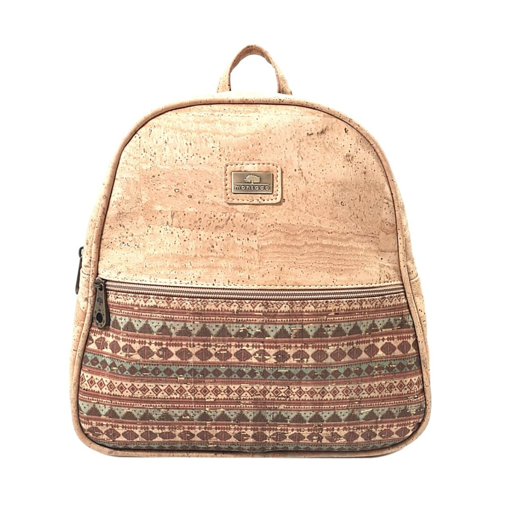 Rucsac duo natural-etnic