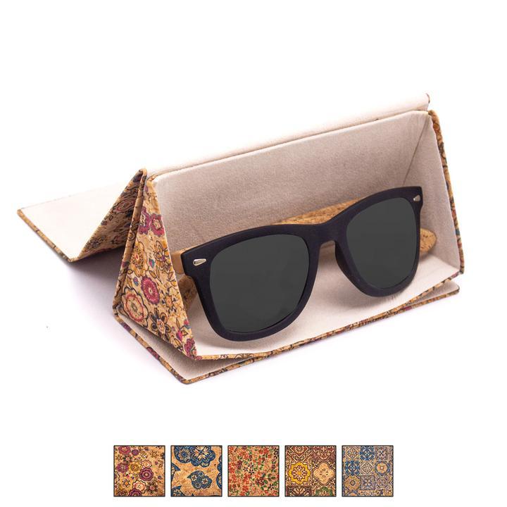 Toc ochelari pliabil cu imprimeu colorat