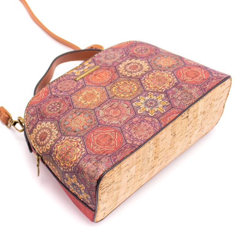 Geanta crossbody azulejos-rosu