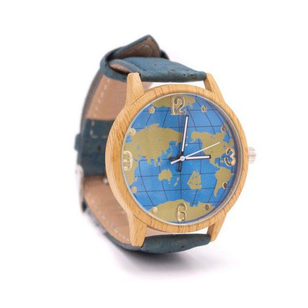 Cutie-cadou ceas Harta lumii5