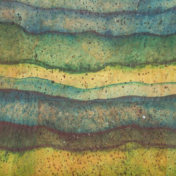 Geanta de umar Aquarelle - verde1