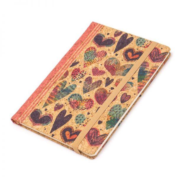 Notebook cu coperti din pluta