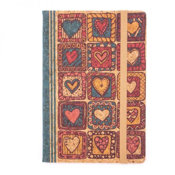 Notebook cu coperti din pluta A