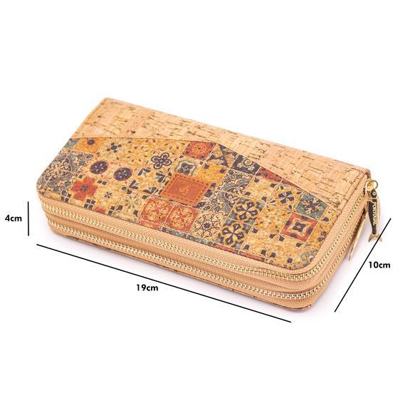 Portofel Mozaic dublu