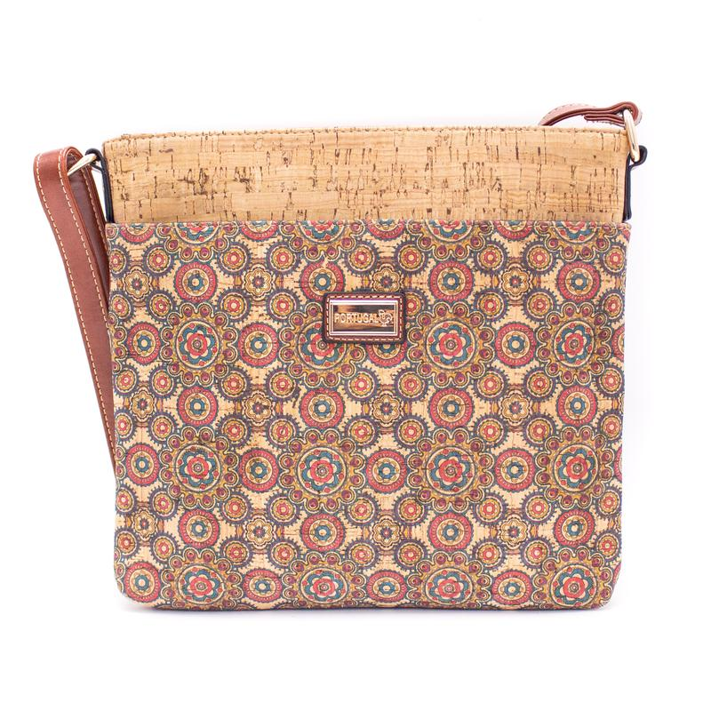 Geanta crossbody patrata – multicolor 1