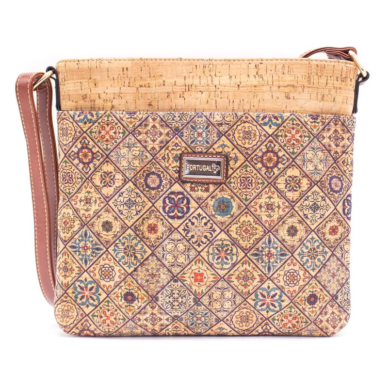 Geanta crossbody patrata – multicolor 2