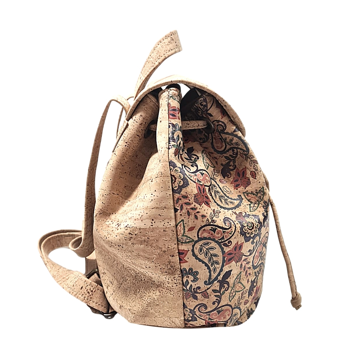 Rucsac Bucket natural-floral