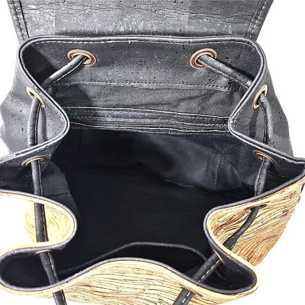 Rucsac Bucket negru-lines4