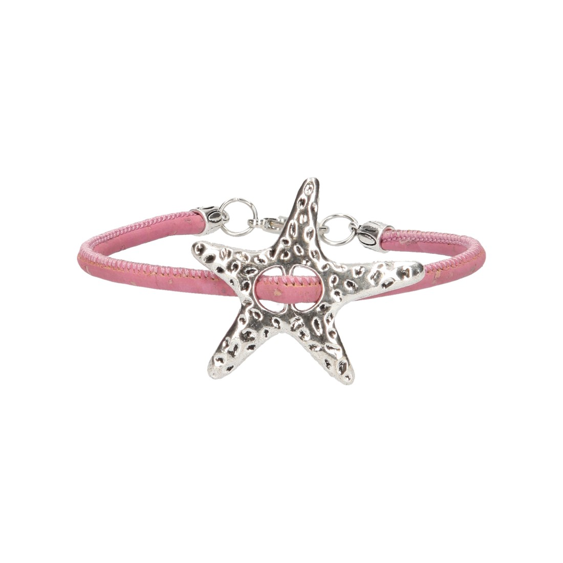 Bratara Starfish – roz