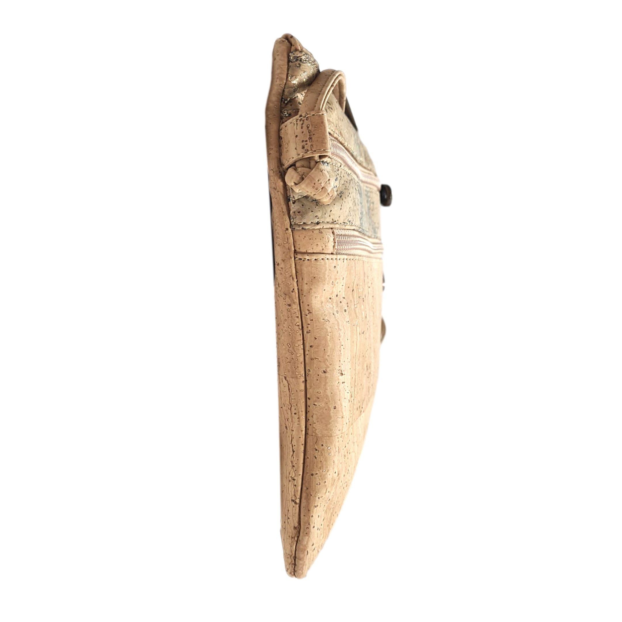 Geanta crossbody inalta natural-mapa