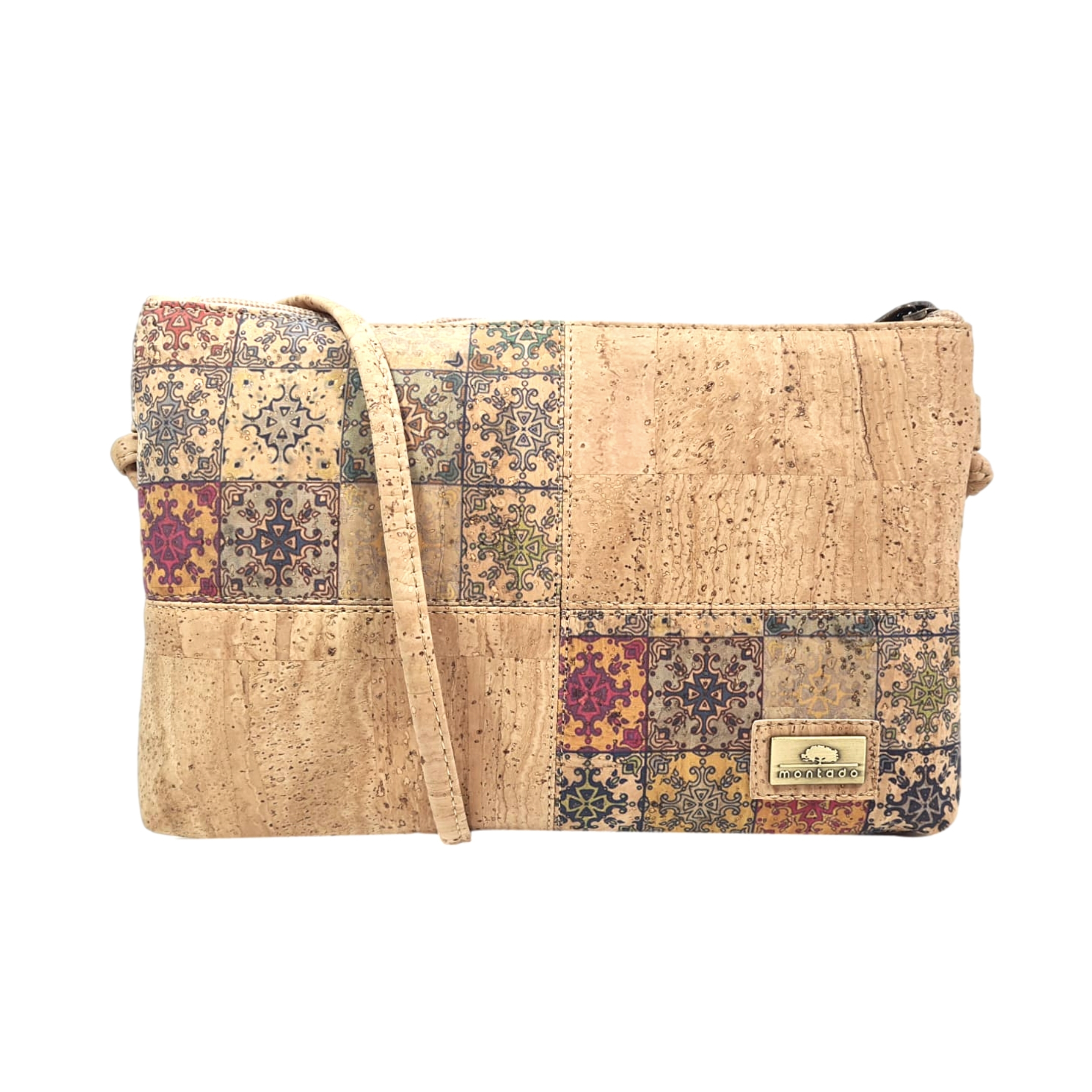 Geanta crossbody natural-mosaic
