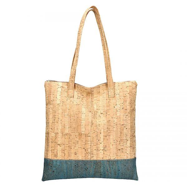 Shopper Natural-blue